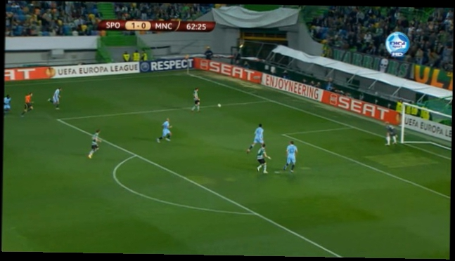 EL: Sporting CP - Manchester City 1-0 080312
