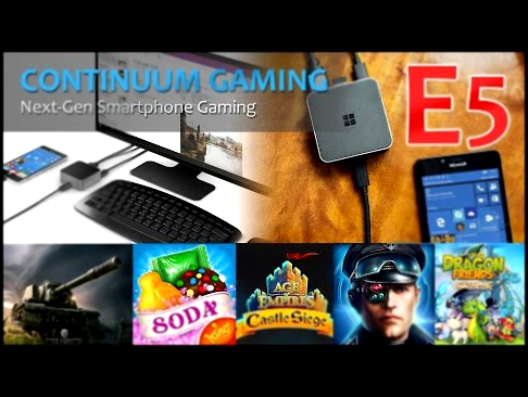 Microsoft Continuum Gaming: Let's Play 5! Ski Safari 2, Star Worms, Dragon Friends