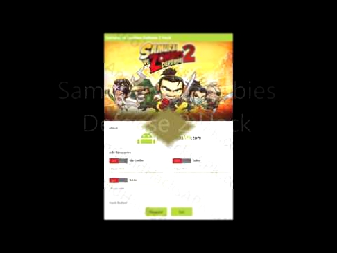 Samurai Vs Zombies Defense 2 Cheats APK Unlimited Glu Credits Coins and Gems