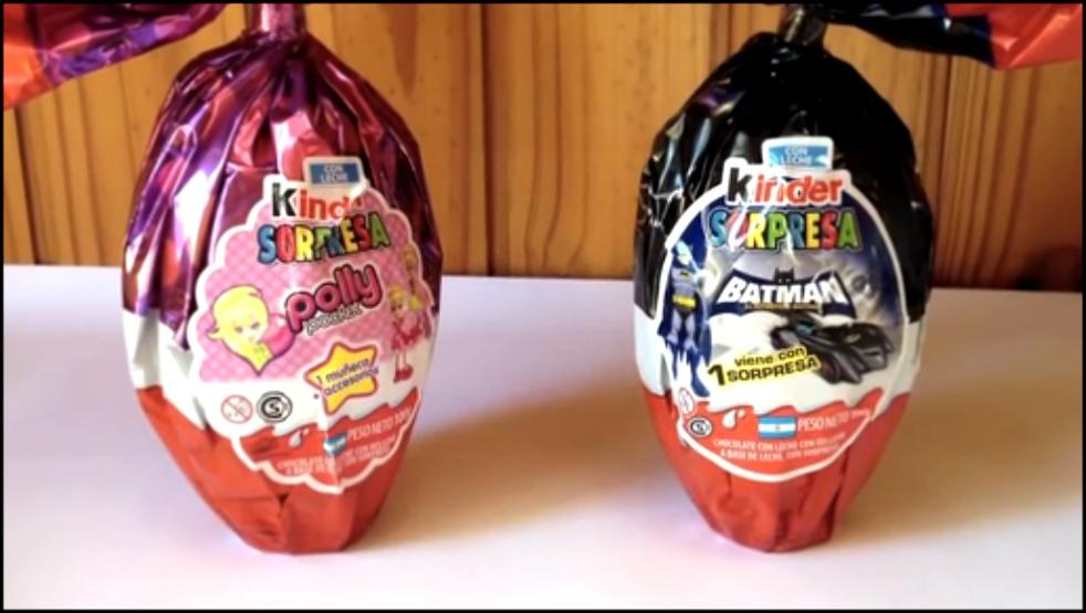 Киндеры яйца с сюрпризом своими руками