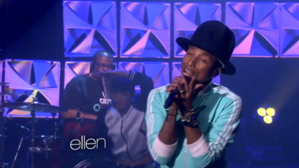 Pharrell Performs 'Marilyn Monroe   HD