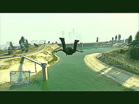 Je prend l'air lol GTA 5 PS3