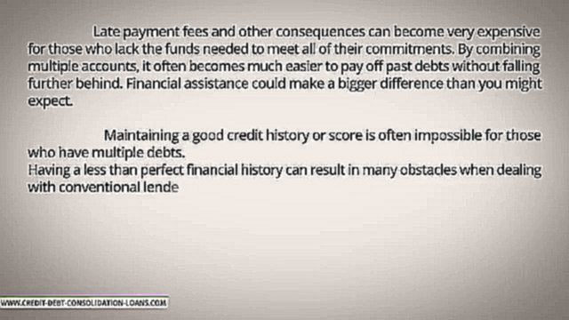 Do Banks Offer Debt Consolidation Loans To People With Bad Credit_