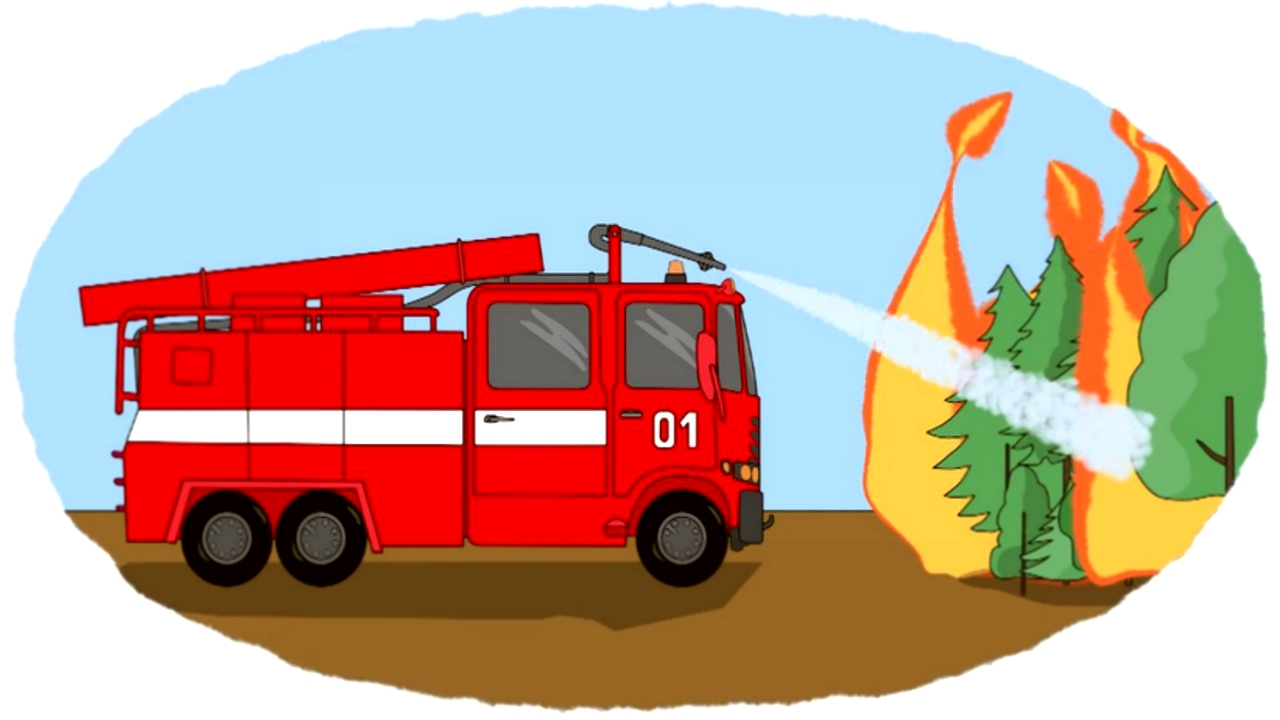 картинки рисунков пожарных машин зависимости предназначения