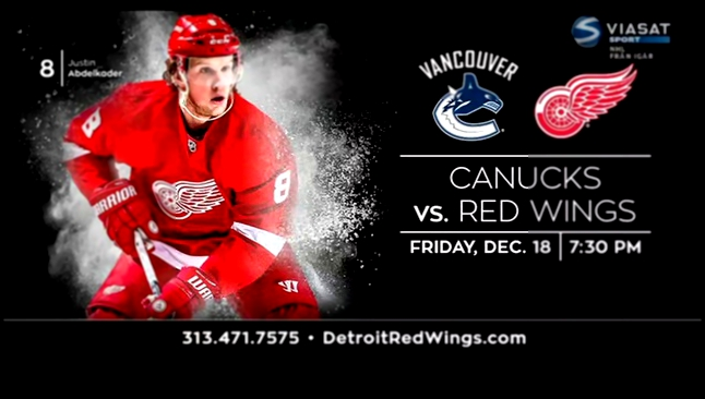 NHL 15/16. Montreal Canadians - Detroit Red Wings . 10.12.2015 | 3 тайм Детройт - Монреаль