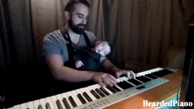 Bearded Piano - Lullaby to my Baby колыбельная для малыша