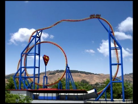 Six Flags in Los Angeles
