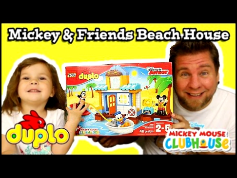 Lego Duplo Mickey Mouse Clubhouse Mickey & Friends Beach House
