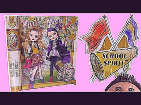 School Spirit  Apple White & Raven Queen EAH Review