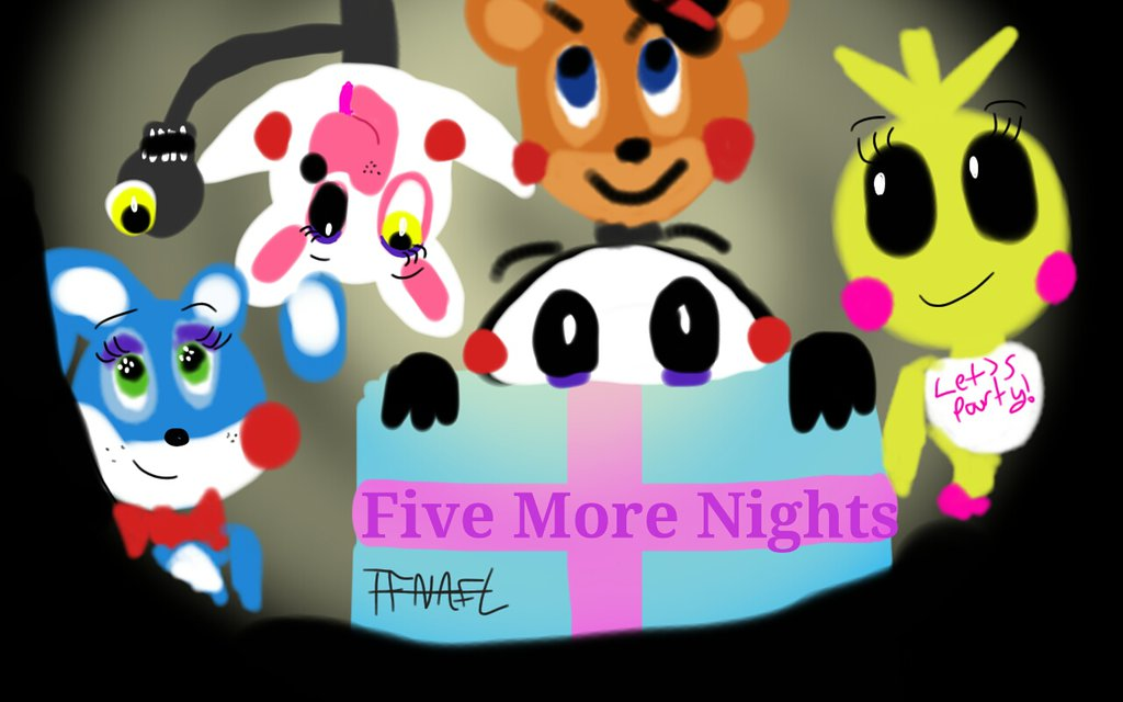 Аниматроники - Five More Nights