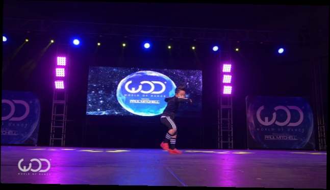 "Aidan ""Bah Boy"" Prince/ FRONTROW/ World of Dance Los Angeles 2015"
