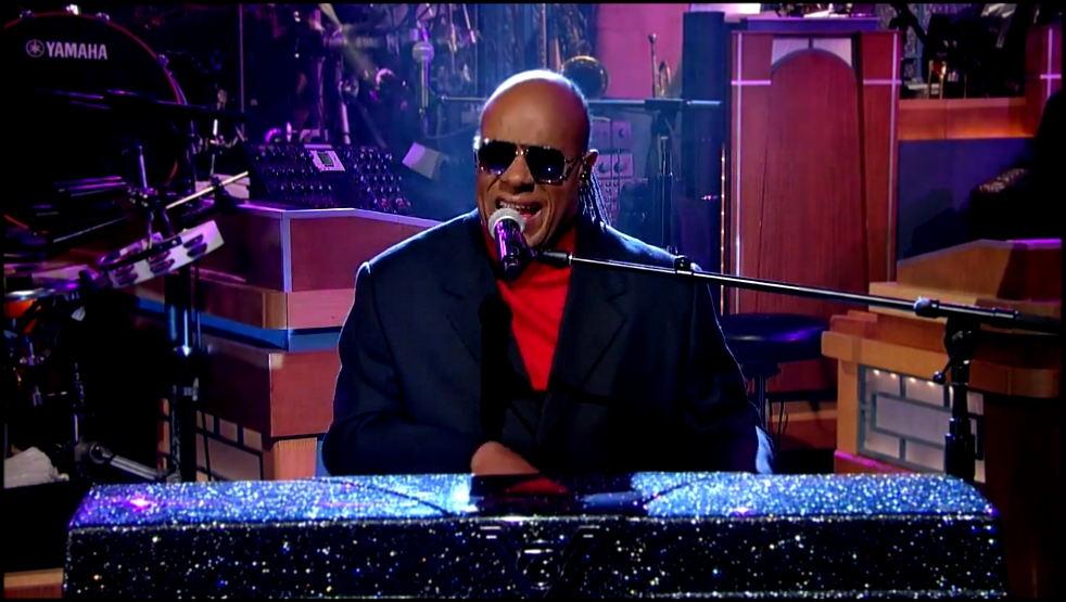 Стиви Уандер / Stevie Wonder_ I Wish - David Letterman 11 03 2015  HD