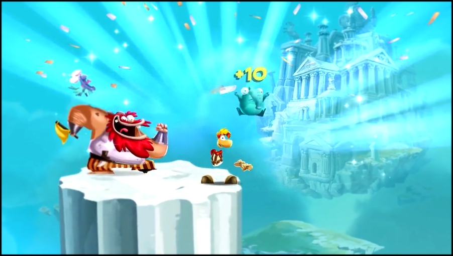 Rayman Adventures - Reveal Trailer Android