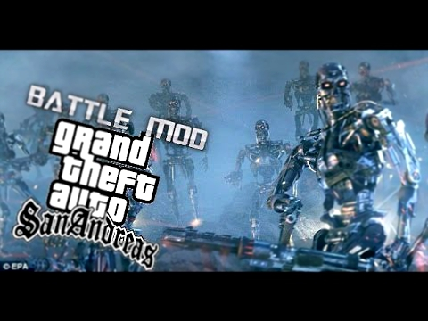 Gta San Andreas Terminator Mods Battle Mod