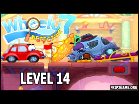 Wheely 7 Detective Game Level 14 Walkthrough