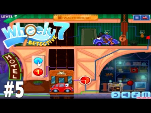 Wheely 7 Detective Level 5 Walkthrough