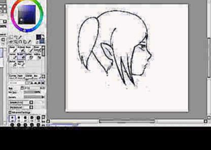 Speed Art #4 Anime girl