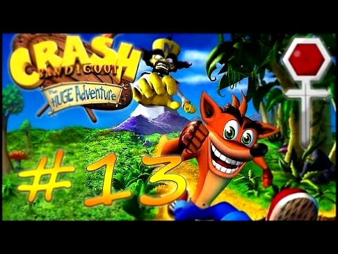 Прохождение Crash Bandicoot: The Huge Adventure GBA #13 - Warp Room 4 - платины