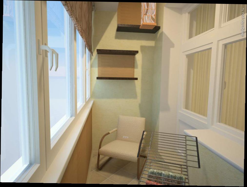 Отделка балконов и лоджий гипсокартоном на фото и видео.