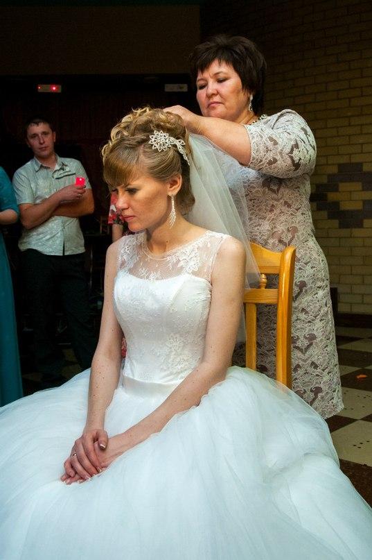 Снятие свадебной фаты