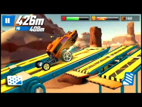 Hot Wheels: Race Off HW Poppa Wheelie Gameplay, Walkthrough #13