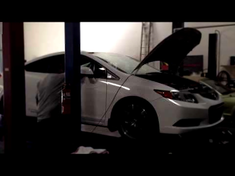 "2012 Civic Si CP - Full Race 3"" catless DP + 3"" exhaust DYNO"