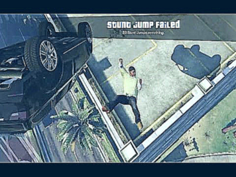 GTA 5- Jump From Car in the Air Funny Kill Moment Ever