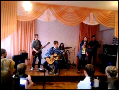 "Samara, rock-band ""FunnY GameS"" - cover party part 2 ""One Day"" - Gary Moore cover"