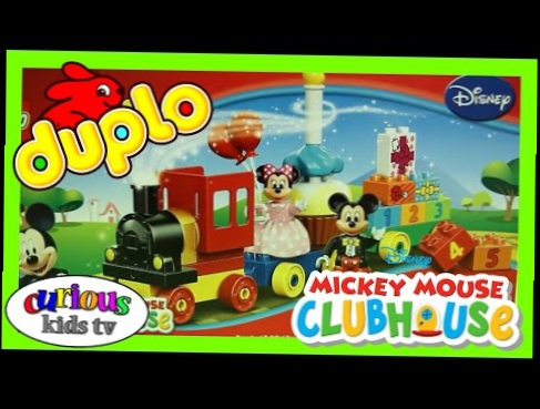 Lego Duplo Mickey Mouse Clubhouse Birthday Parade - Unboxing & Playing!