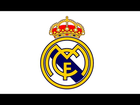 How to Draw the Real Madrid Logo CF