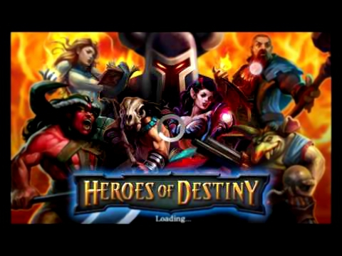 Heroes Of Destiny V2.0.3 Apk mod | Glu credits infinitos | Sem Root  New