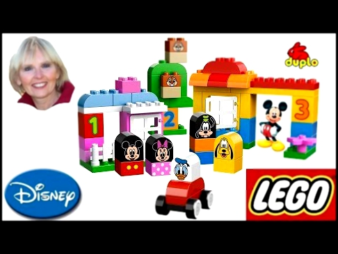 ♥♥ LEGO Duplo Mickey Mouse and Friends Preschool Building Toy