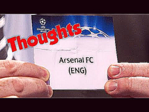 Champions League Draw Reaction | ARSENAL DORTMUND GALATASARY ANDERLECHT
