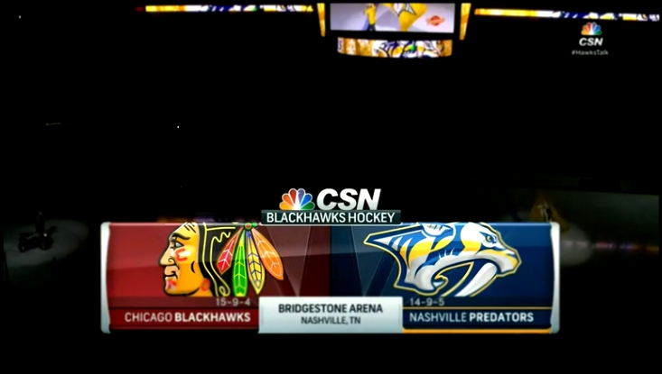 10.12.2015 NHL 15/16, RS: CHICAGO vs NASHVILLE 1/3