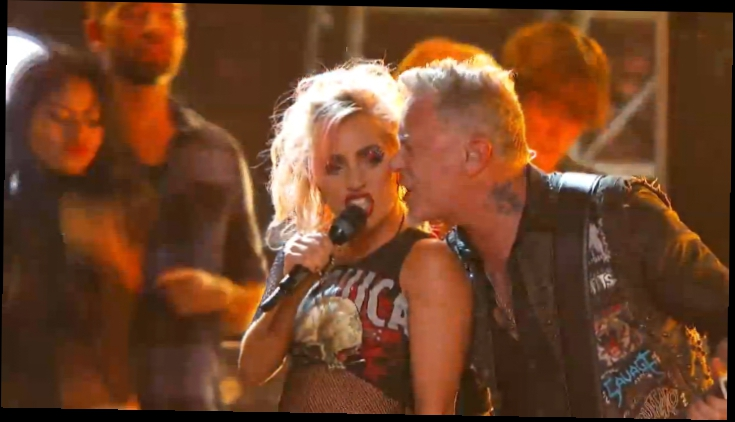 Metallica & Lady Gaga - Moth into Flame Grammy Awards 2017
