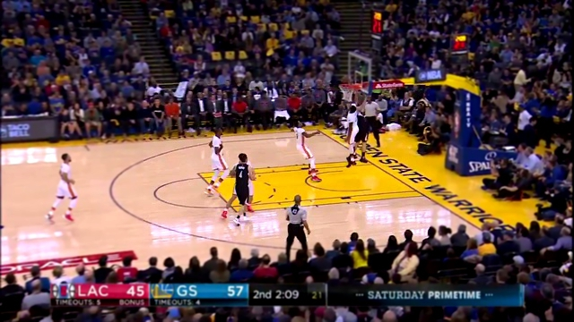NBA: Los Angeles Clipperst VS Golden State Warriors - Интересные моменты от 29.01.2017