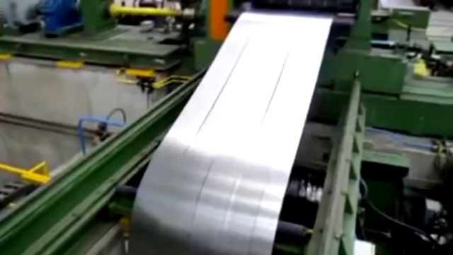 Galvanized steel coil strip Slitting Line www.baosensteel.com.cn