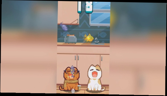 Nom Cat gameplay video on Android