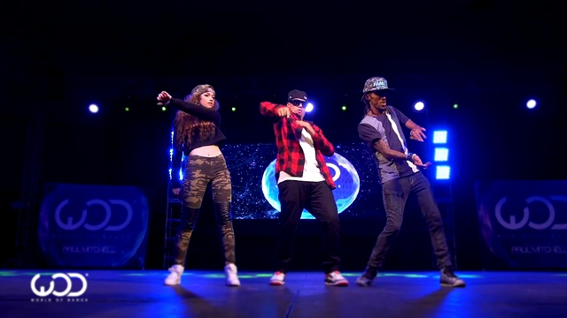 Nonstop, Dytto, Poppin John/ FRONTROW/ World of Dance Los Angeles 2015