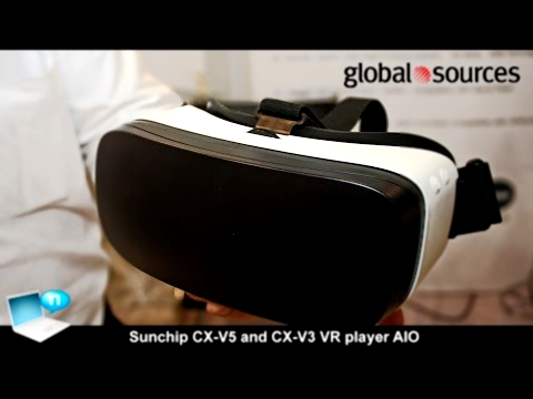 Sunchip CX-V5 and CX-V3 VR player AIO