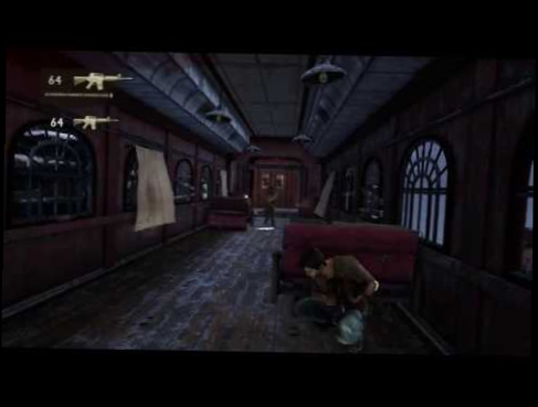 Uncharted 2 train boss fight chapter 14 easy method