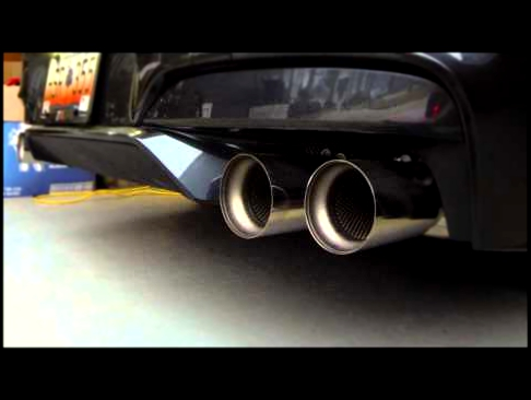 2014 M6 CP Supersprint DP's and M performance exhaust