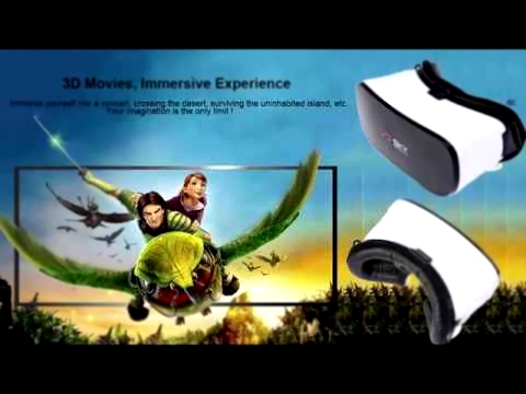 VR SKY CX - V3 All-in-one Virtual Reality Headset  3D Immersive Experience - Touch Pad -VR games