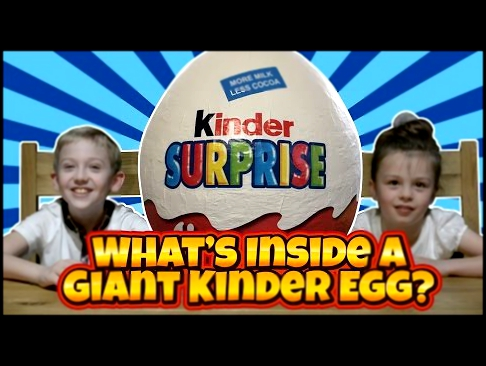 What's Inside a Giant Kinder Surprise Egg? Justice League, Transformers, Barbie and My Little Pony!