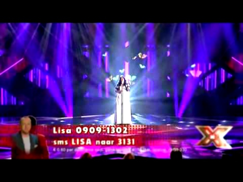 Lisa   X factor NL 2009   liveshow 5   Run To You Whitney Houston