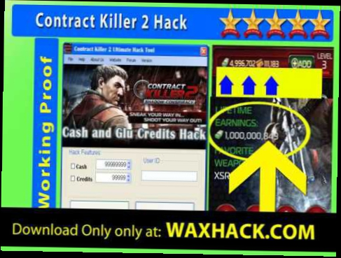 Contract Killer 2 Cheat free glu credits - iOs -- Best Version Contract Killer 2 Cash Hack 2014