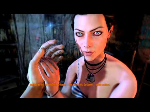 Metro Last Light -- erotic scene with Anna ,,Dominik game play HD