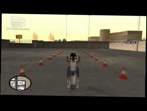 GTA San Andreas   Walkthrough   Bike School #3   The Wheelie HD