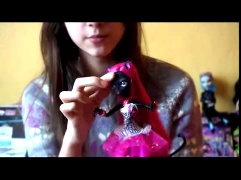 Обзор Кэтти Нуар Монстр хай   Catty Noir Monster High